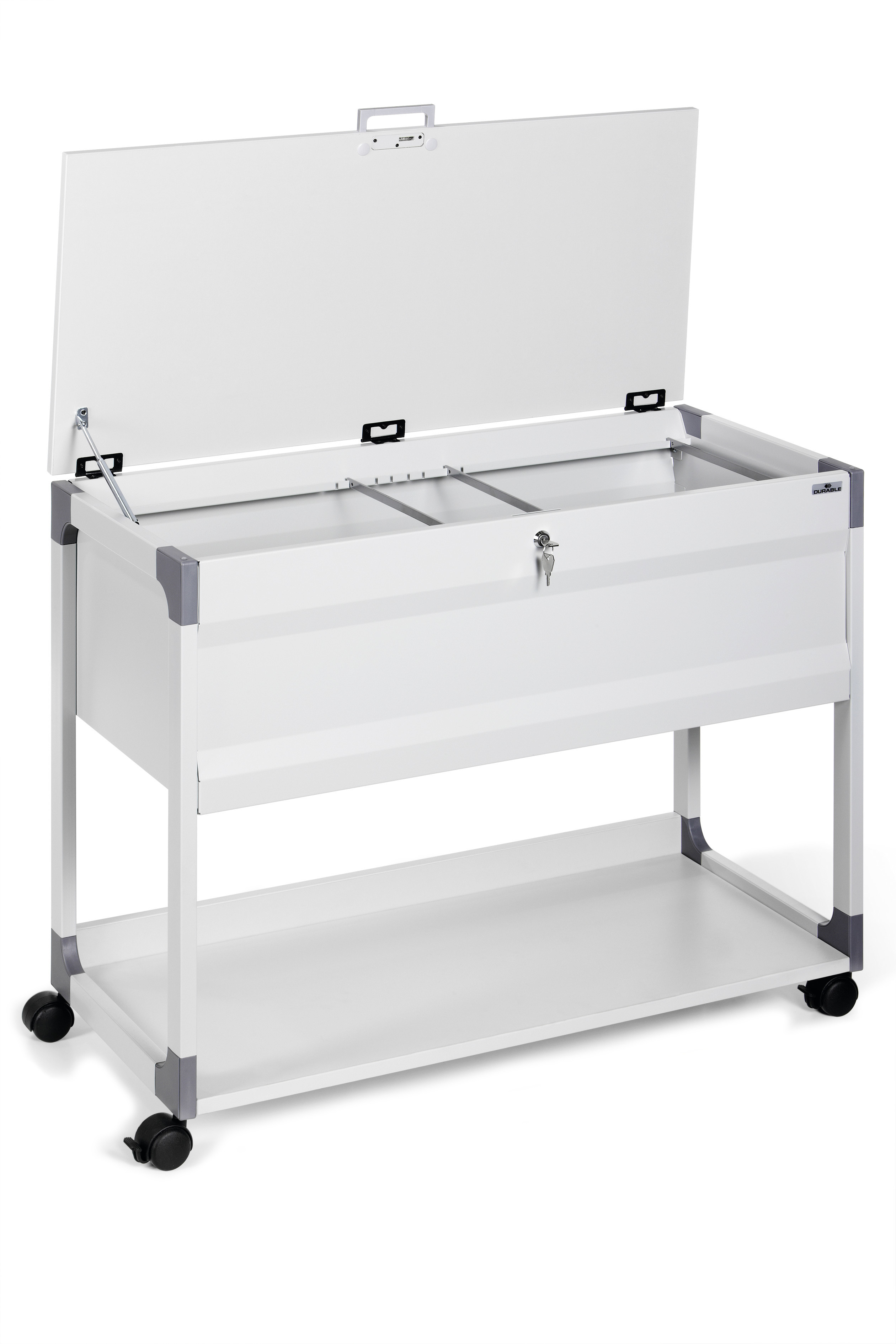 DURABLE SYSTEM FILE TROLLEY 100 MULTI TOP 1 ST Z378799