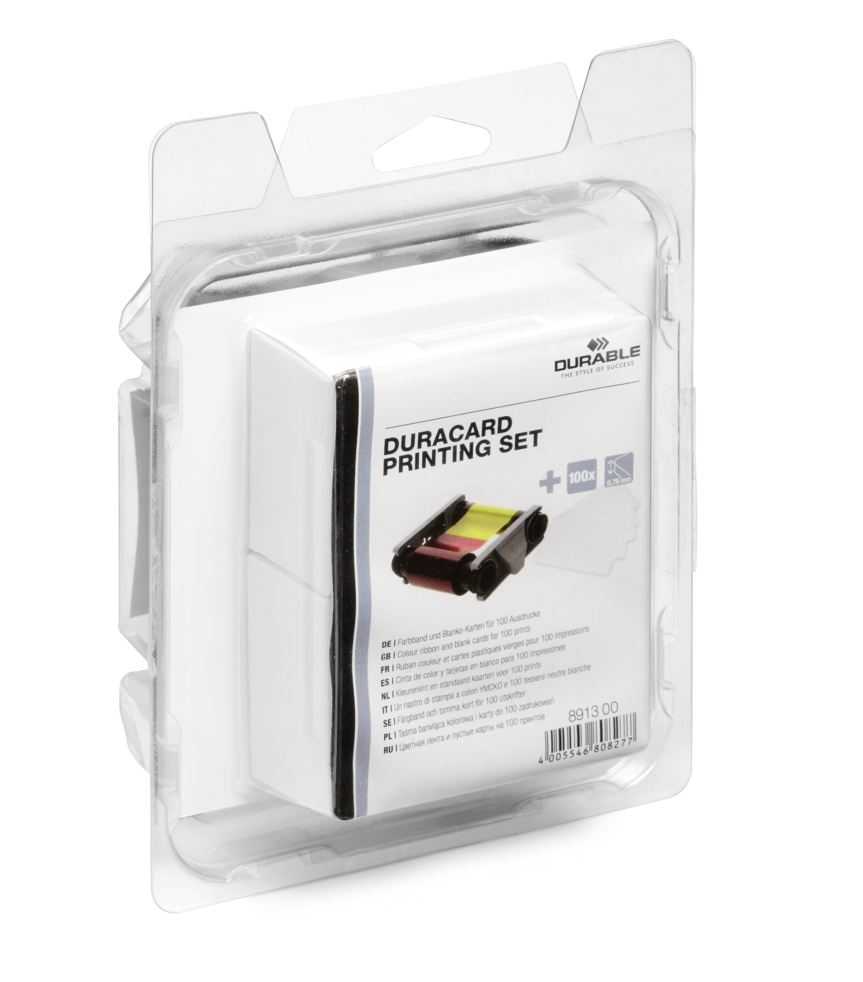 DURABLE DURACARD Printing set (Farbband+Karten) 1 SET Z891399
