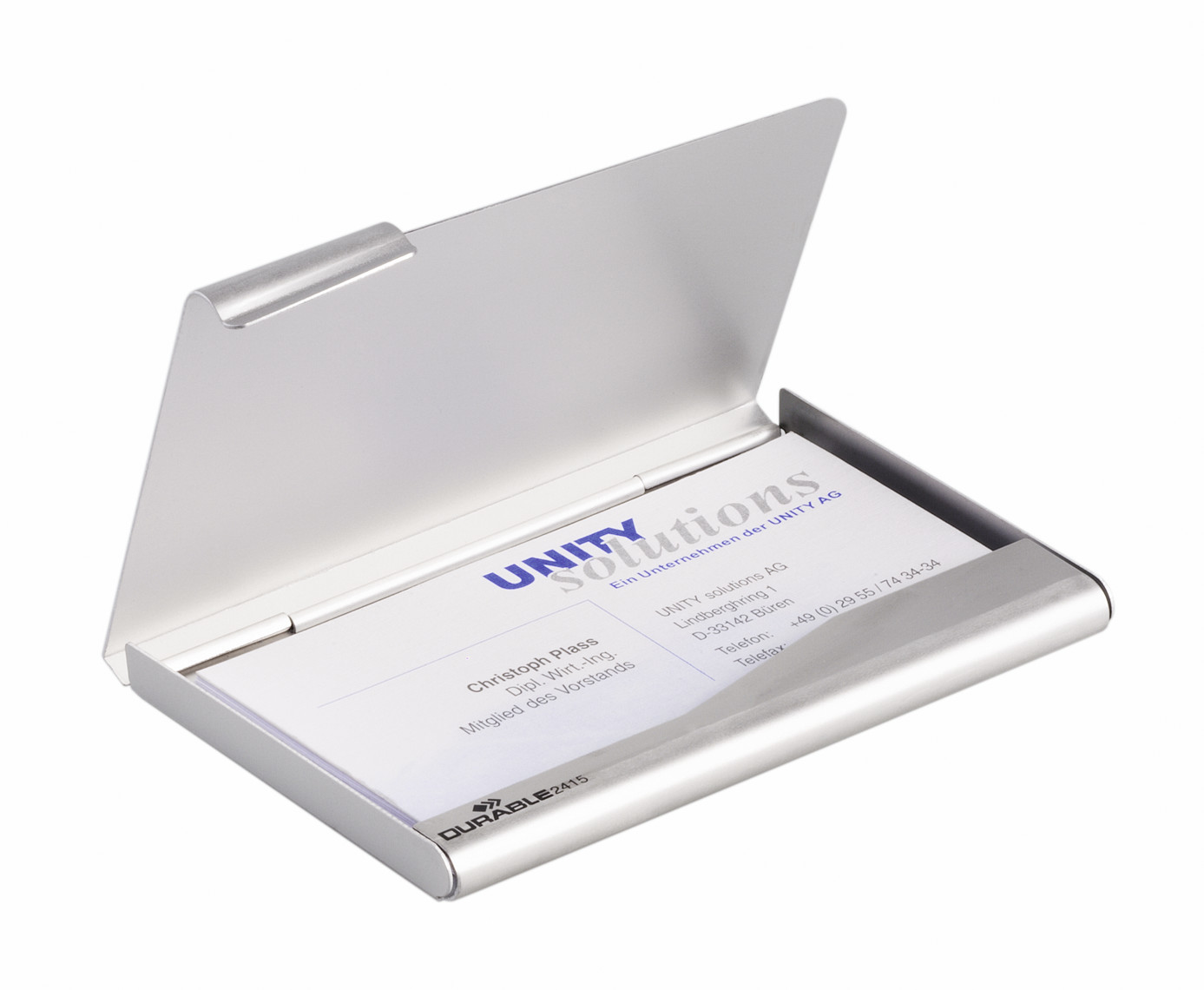DURABLE BUSINESS CARD BOX 1 ST Z241599