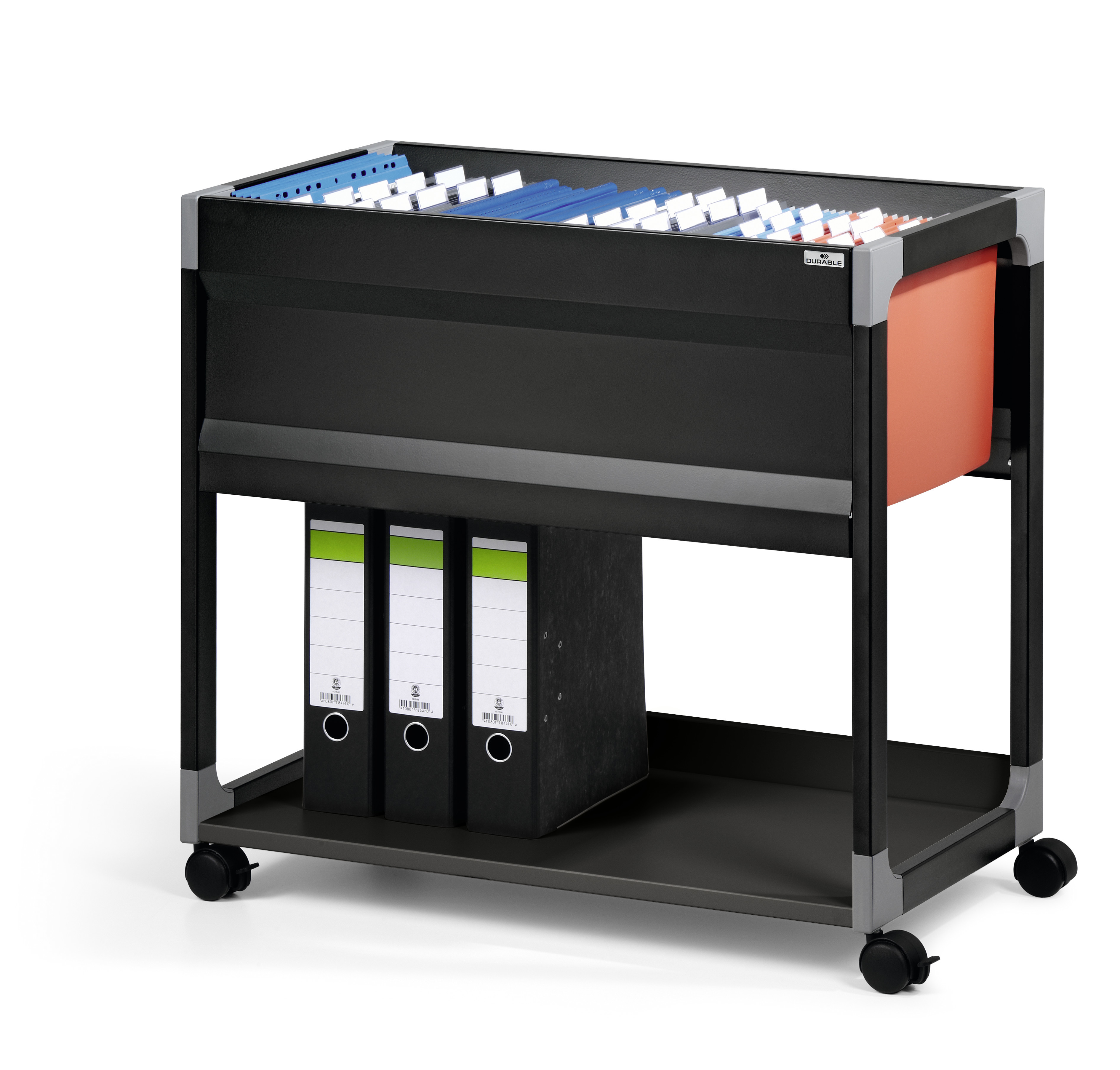 DURABLE SYSTEM FILE TROLLEY 90 A4 1 ST Z378499