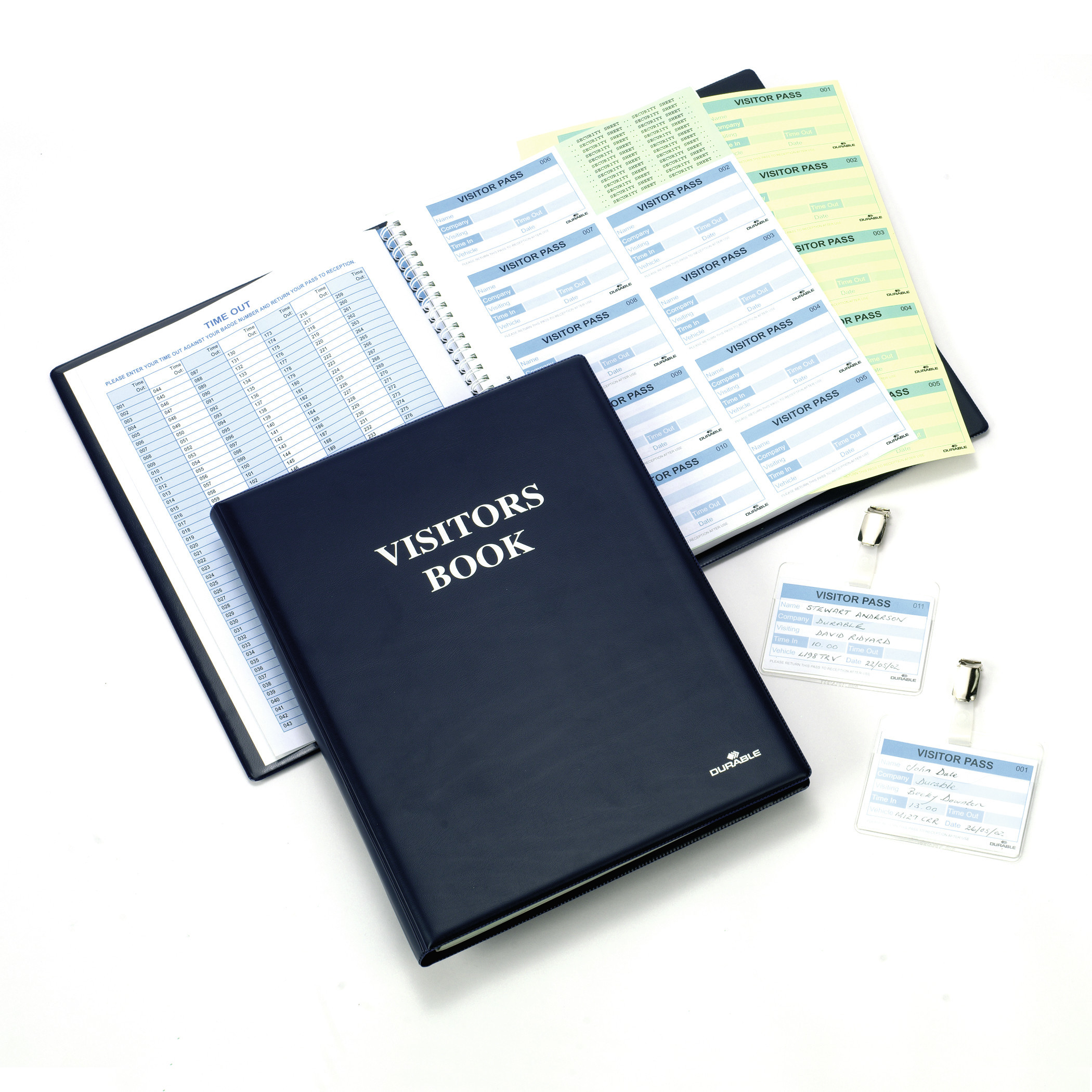 DURABLE VISITORS BOOK 300 1 ST Z146599