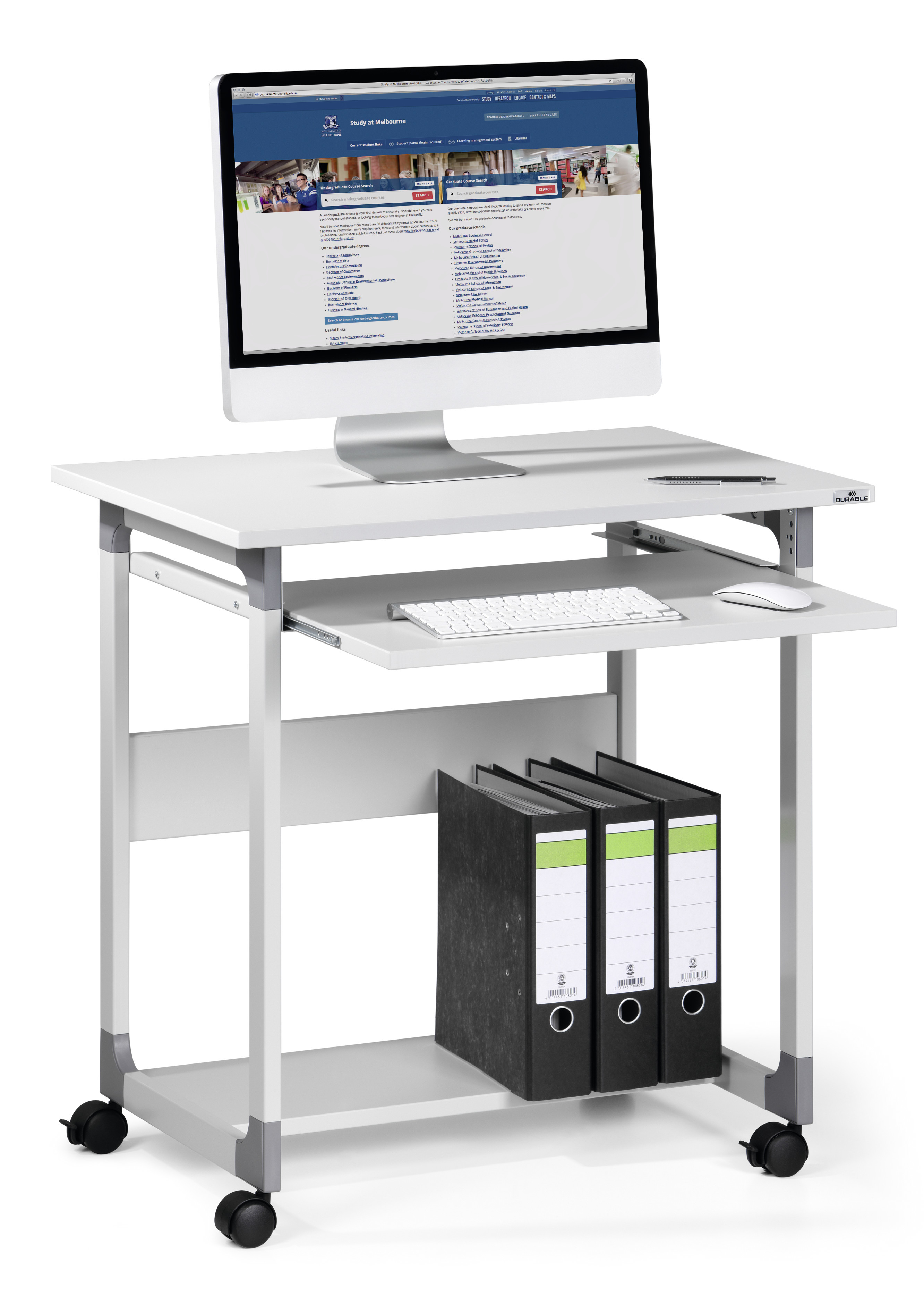 DURABLE SYSTEM COMPUTER TROLLEY 75 FH 1 ST Z379699